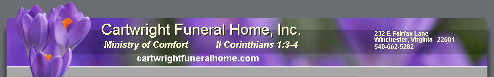 Cartwright Funeral Home, Inc.